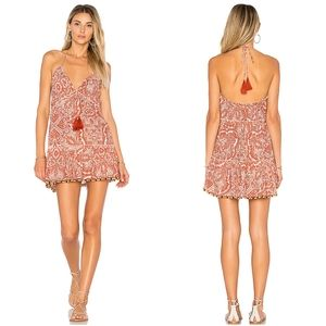 NEW Tularosa Lori Dress Floral Halter